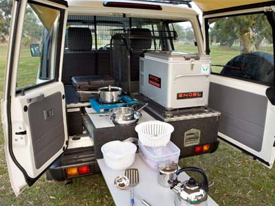 Britz Safari 4WD – 5 Berth