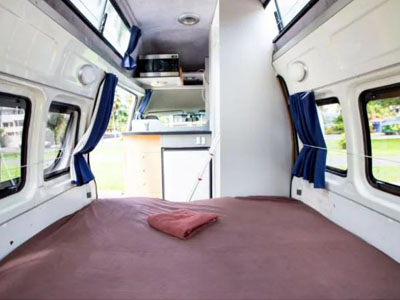 Camperman Paradise ST Campervan 5 Berth Inside