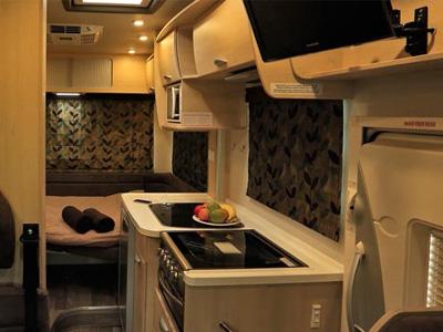 Kea Luxury Motorhome – 4 Berth - kitchen