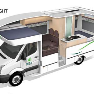 Innovative KC Southern Cross Motorhome  2 Berth