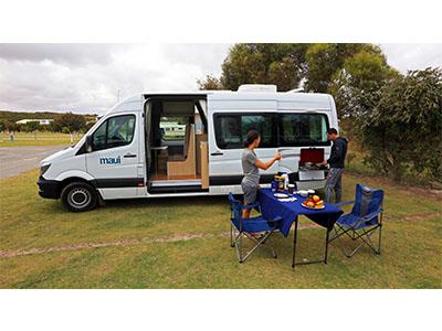 bcdefdf661 ... Maui Ultima Plus Campervan – 3 Berth – external photo ...
