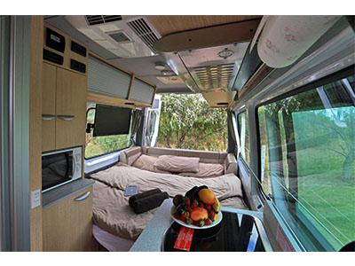 d712a273a4 ... Maui Ultima Plus Campervan – 3 Berth – internal photo ...