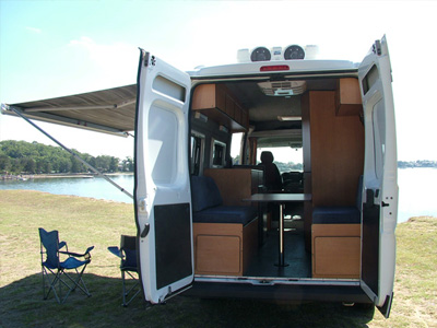 As Fiat Cruiser Motorhome 4 Berth