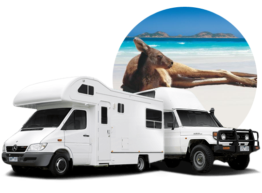 Hook up and go caravan hire