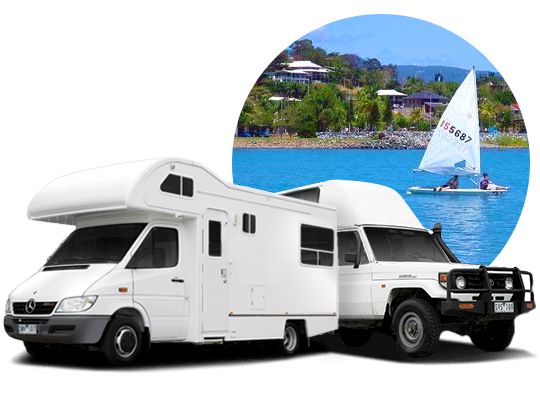 campervan hire in Airlie Beach, Queensland