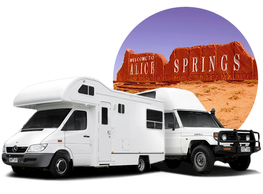 campervan hire in Alice Springs, Northern Territory