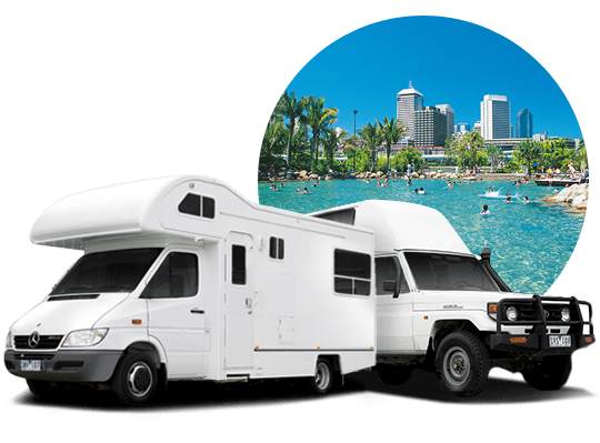 campervan hire in Brisbane, Queensland