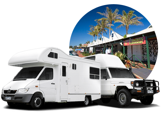 campervan hire in Broome, Western Australia