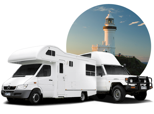 campervan hire in Byron Bay, New South Wales