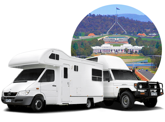 campervan hire in Canberra, Australian Capital Territory