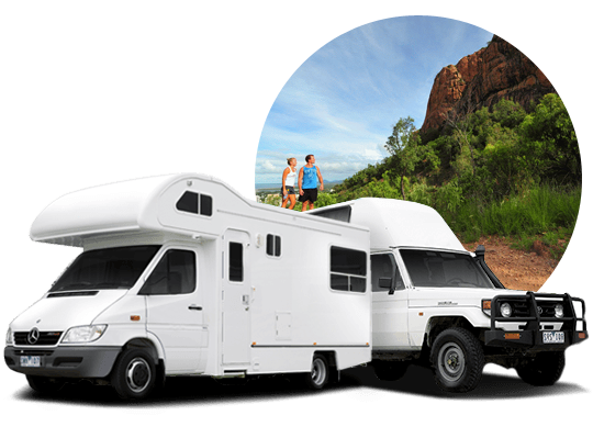 campervan hire in Townsville, Queensland