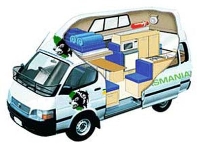 Tm Trail Finder Family Campervan 3 2 Berth