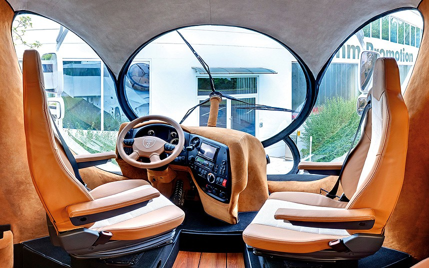 Elemment Palazzo drivers cabin