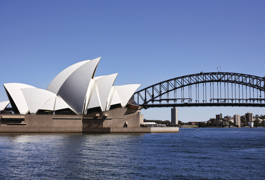 Sydney Harbour Bridge and Opera House View, NSW