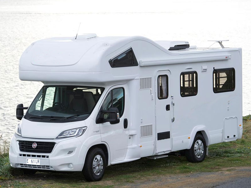 Premium Motorhome side view