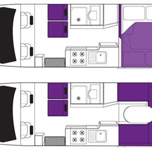 Britz Discovery Campervan 4 Berth