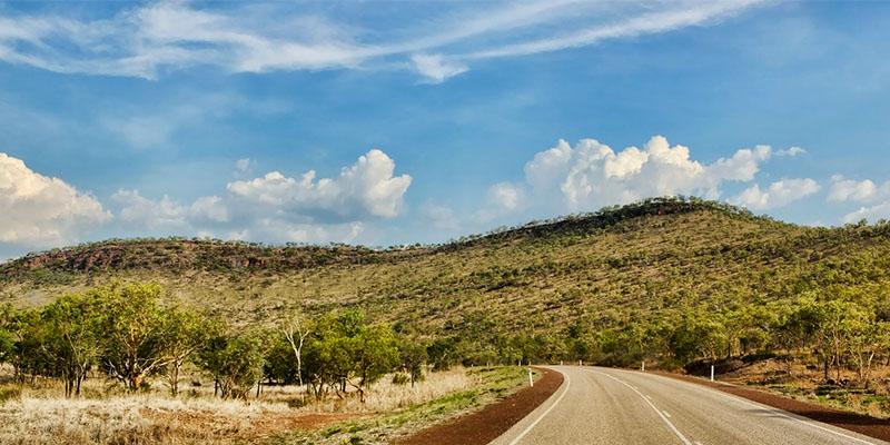 Victoria Highway at Gregories National Park