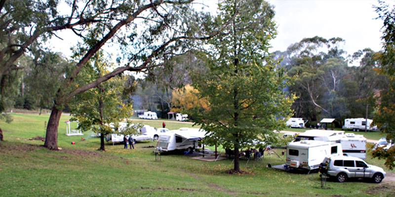 Paddys River Falls Camping Area