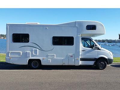 Fantastic Australia Campervan Hire Vehicle Range