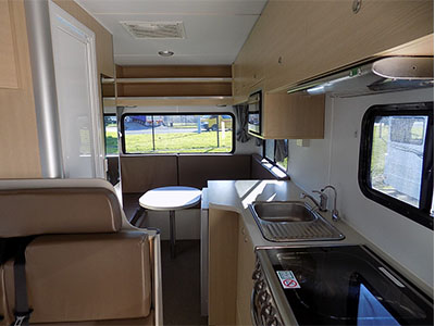 Popular Berth Twin Cab Motorhome With Shower Amp Toilet  AutoRent Hertz