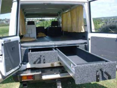 Centre 4 215 4 Troopcarrier Outback With Roof Tent 2 Berth