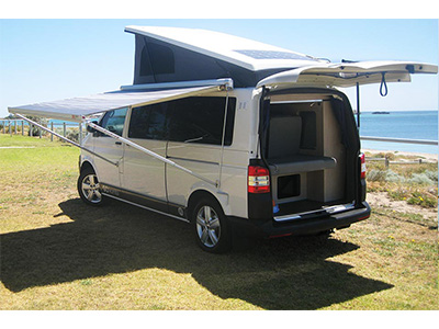 Gc Vw T5 Pop Top Campervan 4 Berth