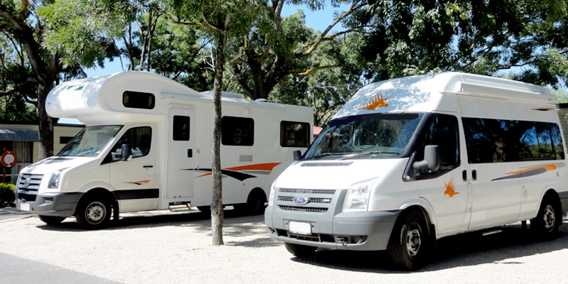 motorhomes different sizes