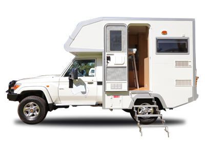 WA Toyota Landcruiser Campervan – 2 Berth