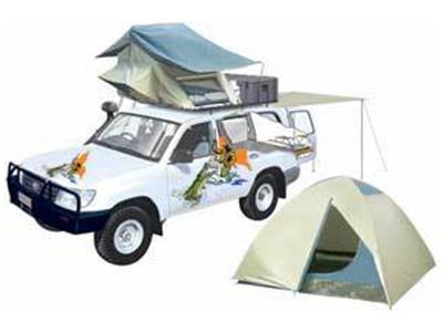 Cb Bush Ranger Roof Top Tent 2 To 5 Berth